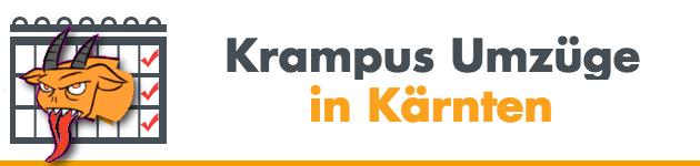 Krampus Umzüge in Kärnten