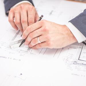 Suche nach dem Architekt