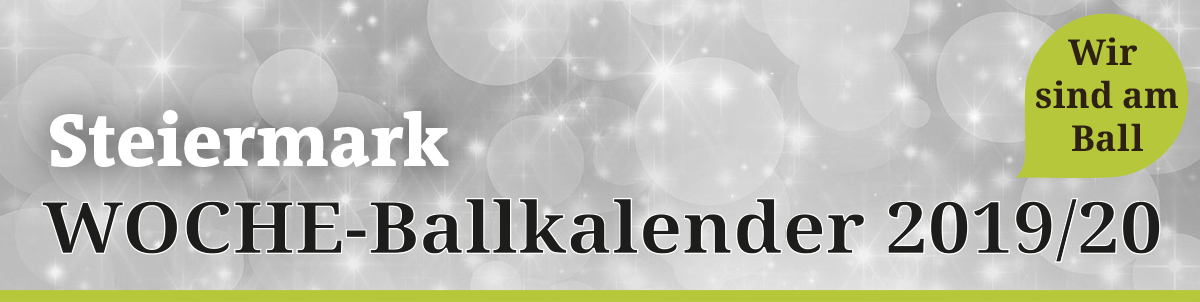 Ballkalender 2017/18 Steiermark