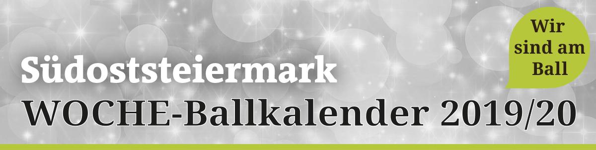 Ballkalender Südoststeiermark