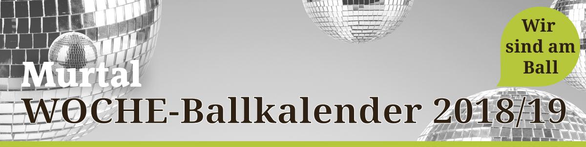 Ballkalender Murtal
