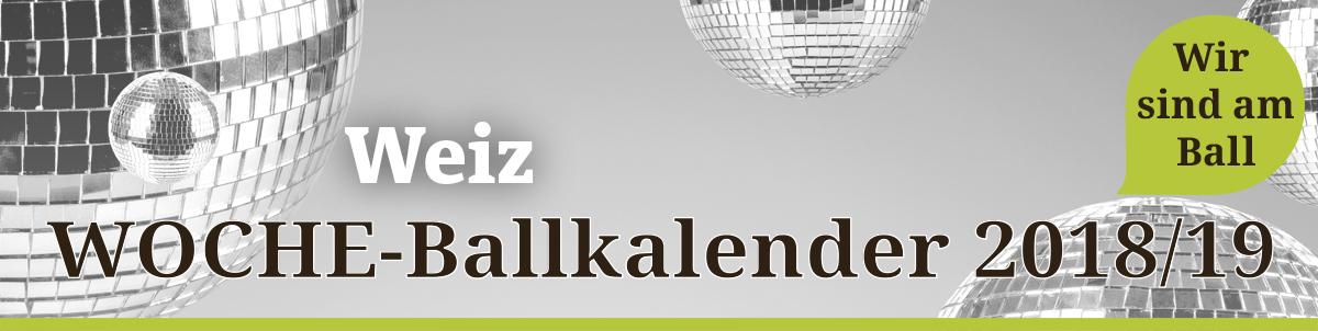 Ballkalender Weiz