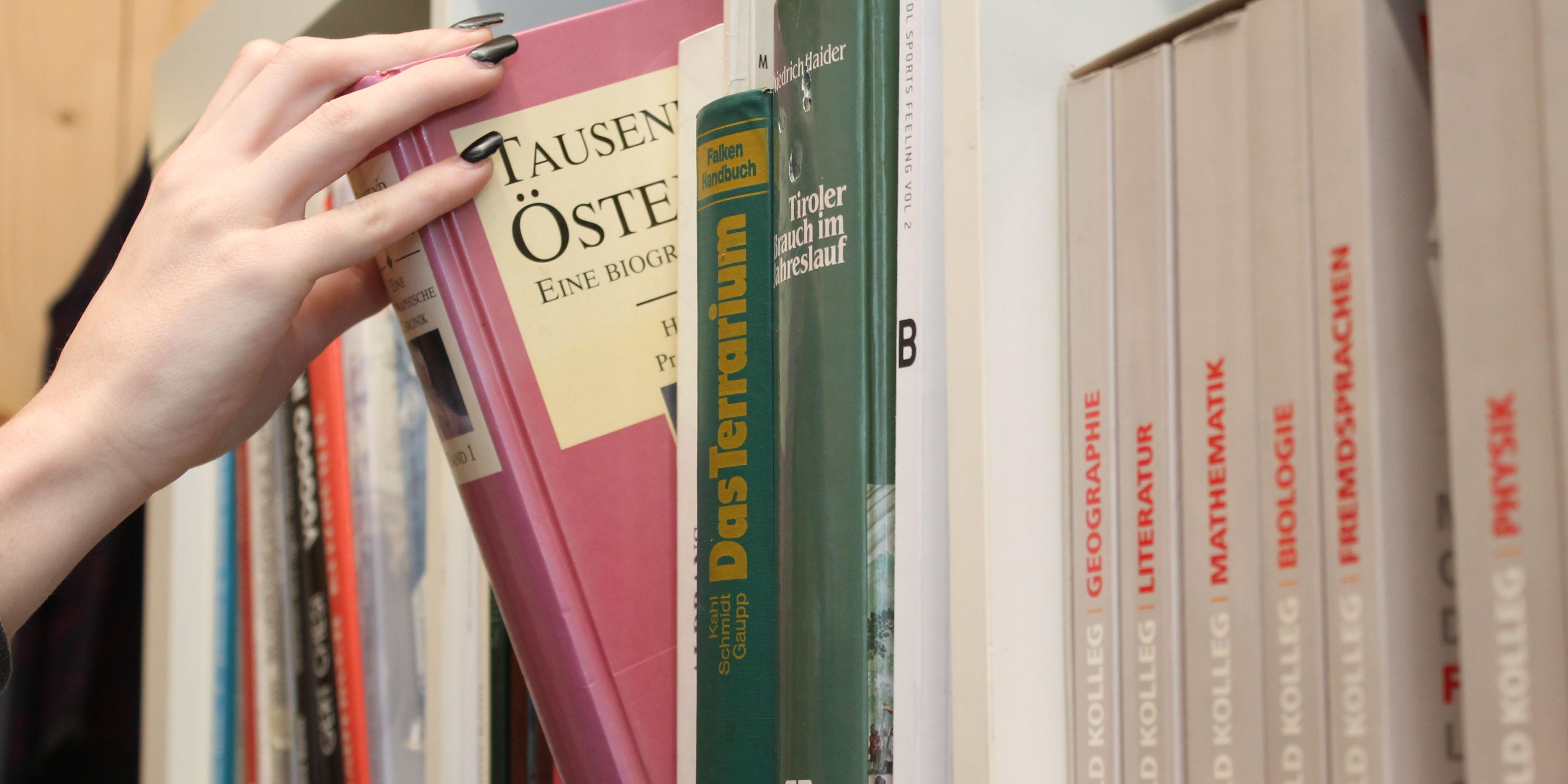 Bücher und Bibliotheken in Schwaz